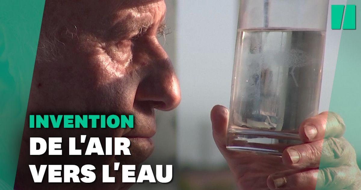 Transformer l'air en eau potable? Le défi réussi de cet Espagnol de 82 ans