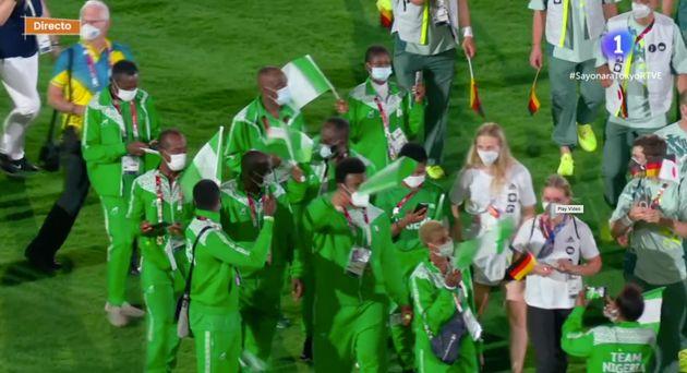 Ceremonia de clausura de los Juegos Olímpicos de
