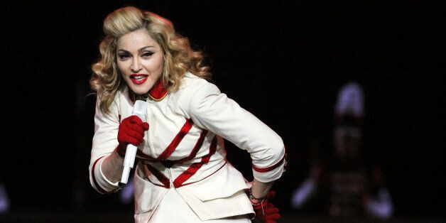 Madonna performs as part of The MDNA Tour at Philips Arena on Saturday, Nov. 17, 2012], in Atlanta. (Photo by Robb Cohen/Robb
