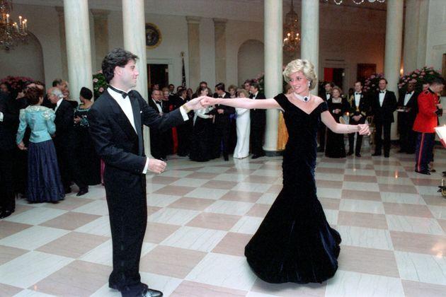 John Travolta and Princess Diana in