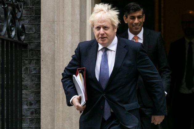 Boris Johnson and Rishi Sunak are on opposite ends of the spectrum when it comes to tax and