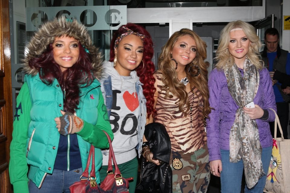 Little Mix pictured in December
