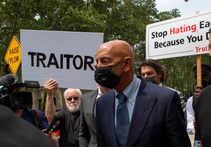 Tom Barrack, a close adviser to former President Donald Trump, is battling charges that he illegally worked as a UAE agent.