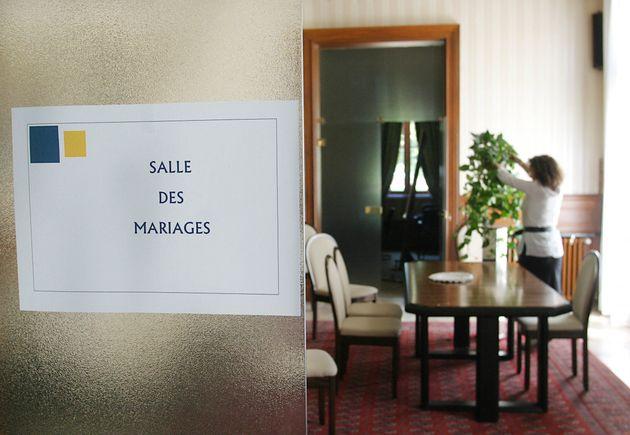 Image d'illustration d'une salle des mariages, à Bègles en