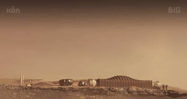Mars Dune Alpha est unun module de 158 mètres carrés et fabriqué par impression
