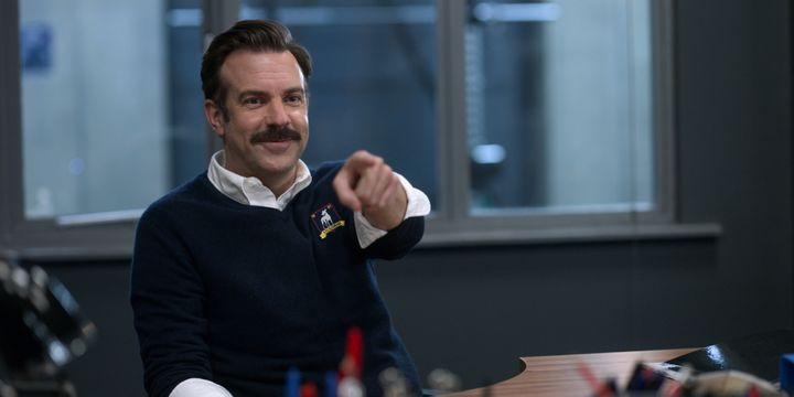 """""""Ted Lasso,"""" starring Jason Sudeikis, follows a white guy who leads his team without ridiculing or causing fear in others. Unfortunately, that's notable."""