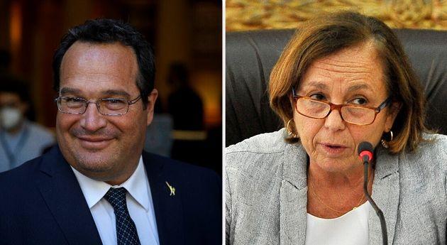 Claudio Durigon e Luciana