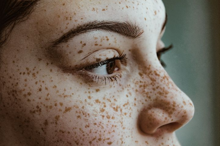 Don't have natural freckles? Viral TikTok beauty tutorials teach you how to draw them on.