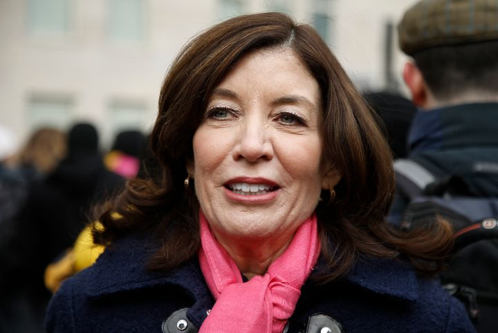 Lieutenant Gov. Kathy Hochul will make history as New York's first female governor.