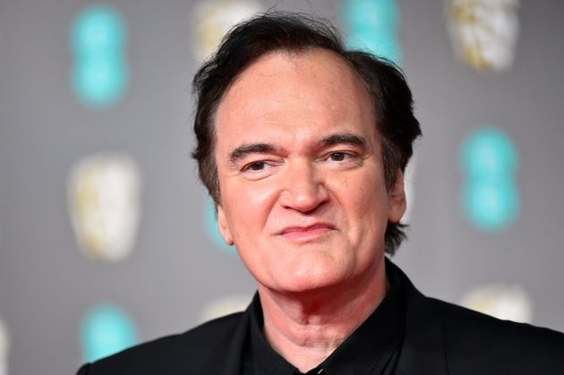 Quentin Tarantino attends the 73rd British Academy Film Awards.