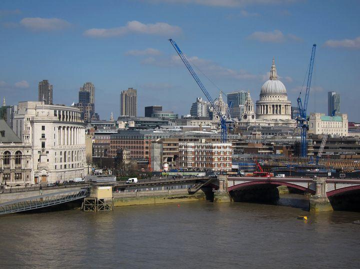 The London cityscape