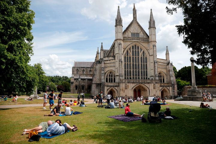 Winchester's famous Cathedral