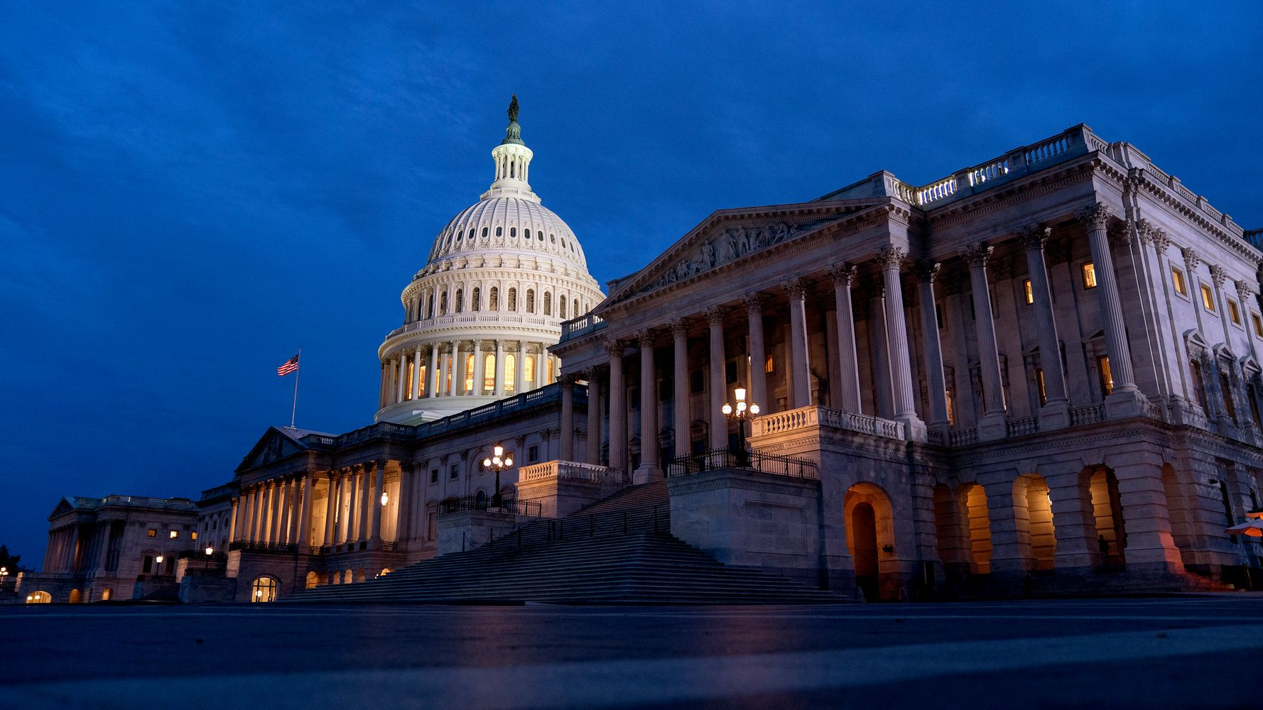 Senate Democrats Pass .5 Trillion Budget Plan In Latest Win For Biden
