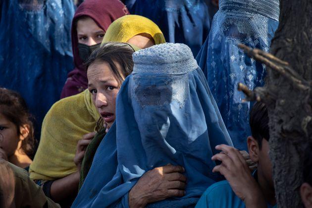 Αφγανές που έχουν καταφύγει...