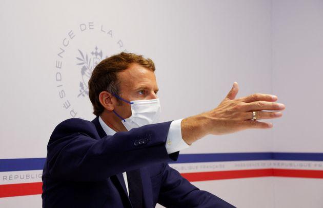 Emmanuel Macron préside le conseil de défense du 11 août sur la situation