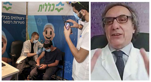 Vaccinazione in Israele e Pierangelo