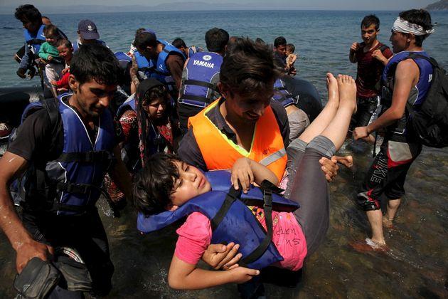 Αφγανοί μετανάστες...
