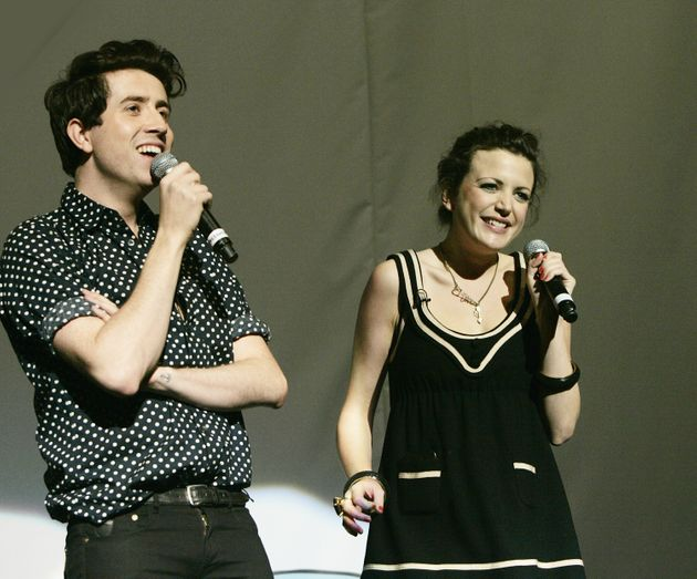Nick and Annie back in 2008