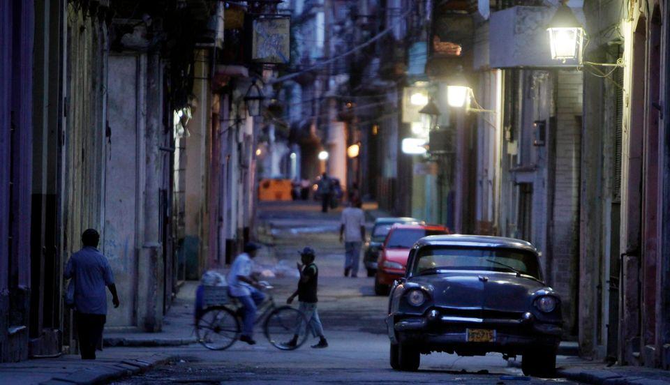 La noche de La Habana.
