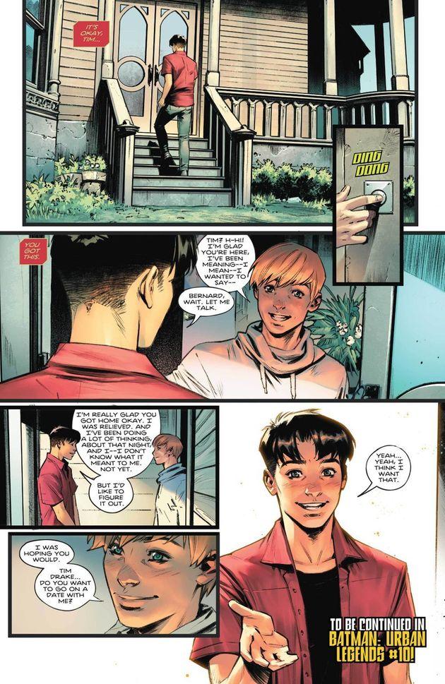 バットマンの相棒ロビンはバイセクシュアル。最新刊で新たな展開にSNSで喜びの声