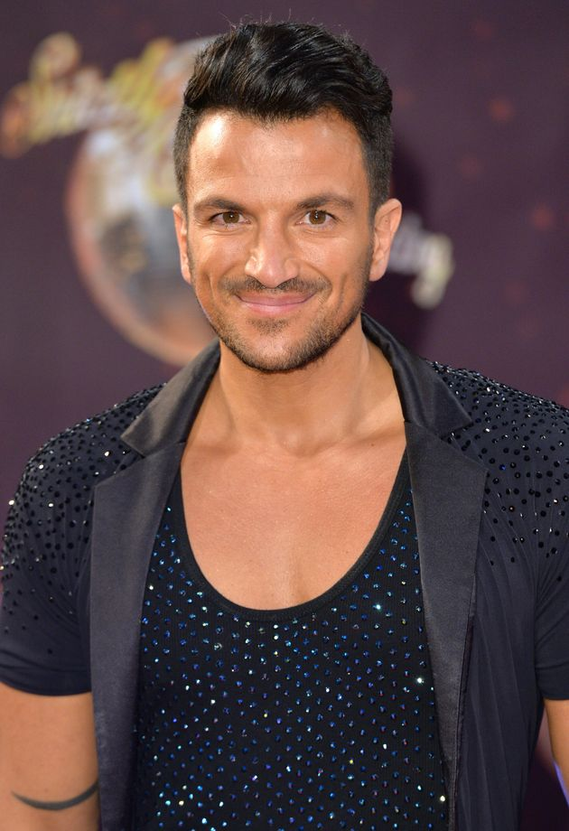 Peter Andre did Strictly in 2015