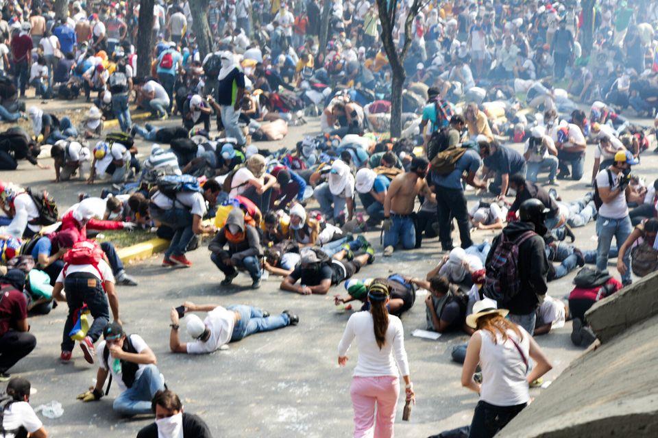 Protestas estudiantiles.