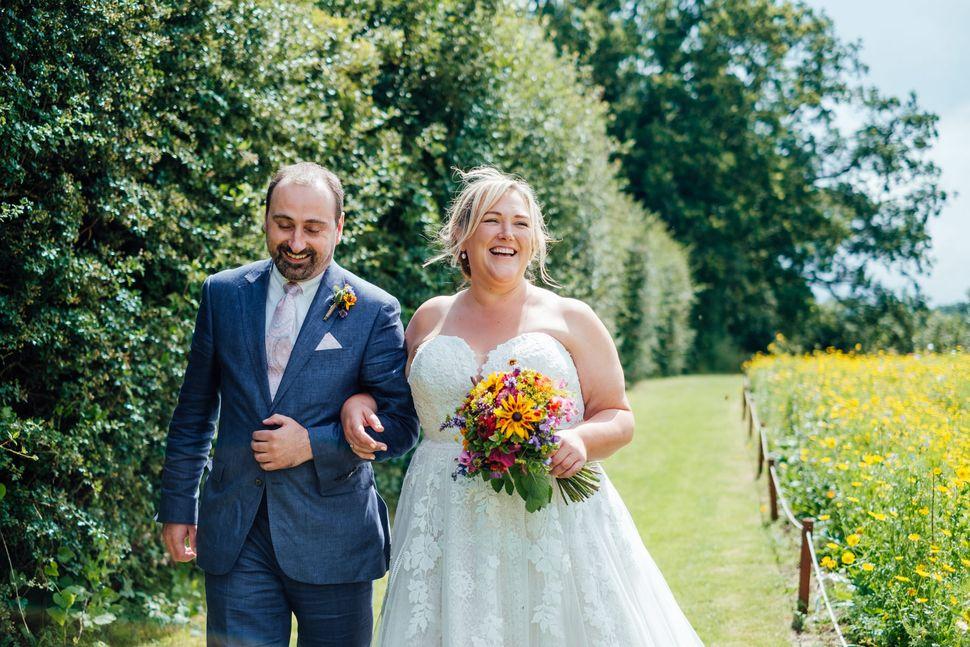 Emily Iles got married in Kent in July 2021.