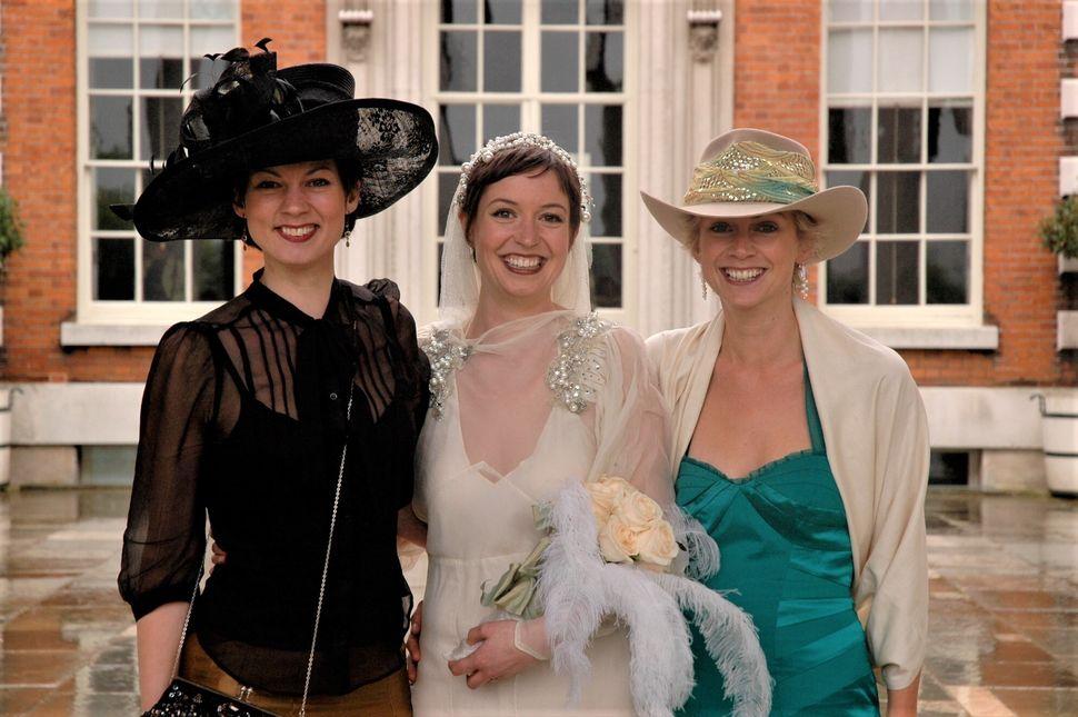 Chloe Haywood got married in London in 2006.