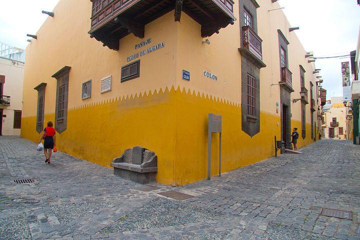 Casa de Colón en el barrio de Vegueta.