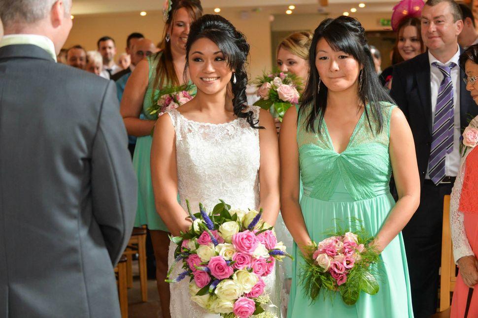 Mandy Wong Oultram got married in Stoke-on-Trent in August 2014.