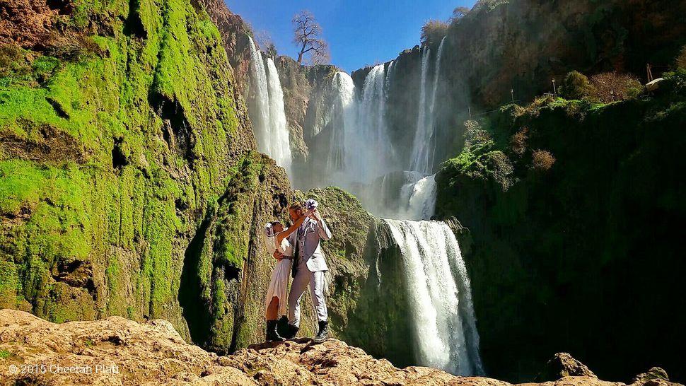 Cascada de Ouzoud, Marruecos