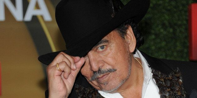Joan Sebastian attends the press room at the 3rd Annual Billboard Mexican Awards at The Dolby Theatre on Wednesday, Oct. 9, 2013 in Los Angeles. (Photo by Richard Shotwell/Invision/AP)