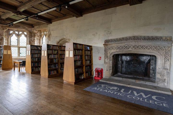 Biblioteca del centro.