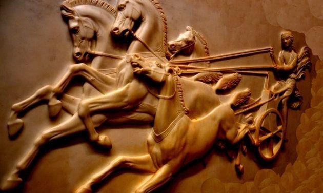 La princesa espartana Kyniska ganó los Juegos Olímpicos en carreras de carros de cuatro caballos: dos...