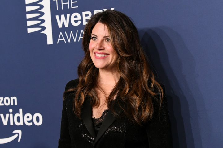 Monica Lewinsky attends The 23rd Annual Webby Awards in 2019.