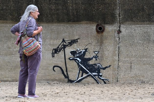 Banksy Went On 'Spraycation' And All We Got Was Some 'Mindless
