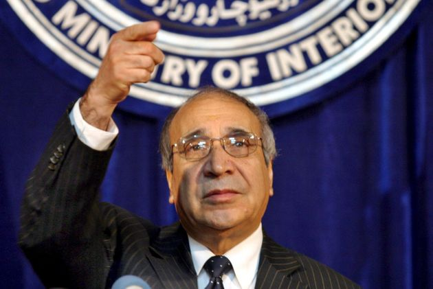 Afghan Interior Minister Ali Ahmad Jalali holds a press conference in Kabul on Wednesday 28 September 2005. SYED JAN SABAWOON/ANSA