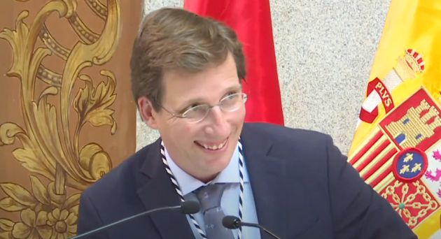 José Luis Martínez-Almeida, alcalde de