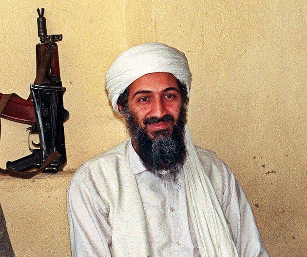 アフガニスタンで撮影されたオサマ・ビン・ラディン氏の写真