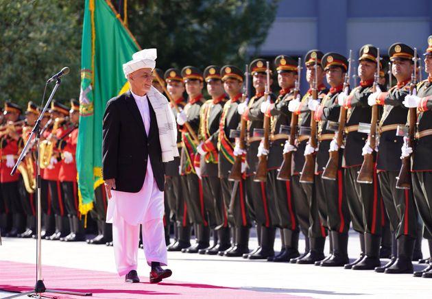 Ashraf Ghani, presidente de