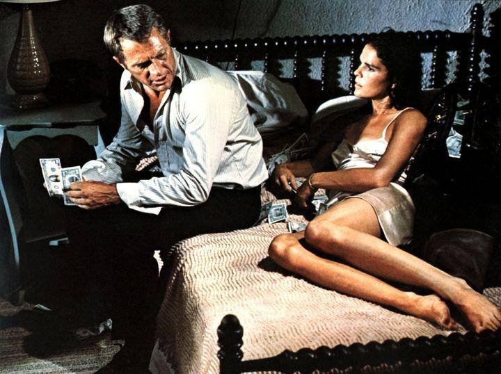 «The Getaway». Η μοναδική ταινία στην οποία συμπρωταγωνίστησε το ζευγάρι.