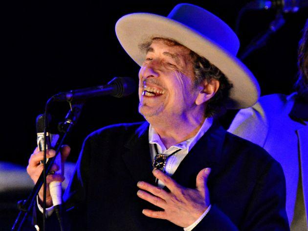 Bob Dylan en el Hop Festival en Paddock Wood, en Kent (Reino