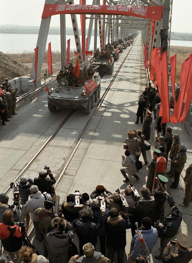 Il ritiro delle truppe sovietiche dall'Afghanistan, iniziato a maggio