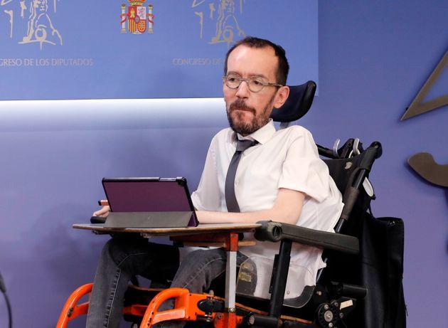 Pablo Echenique en el