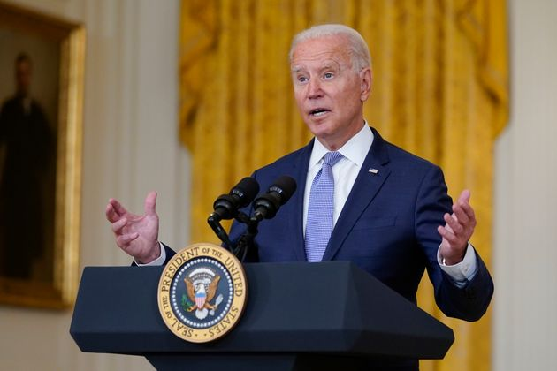 Joe Biden dio un mensaje a la nación sin preguntas de la prensa este