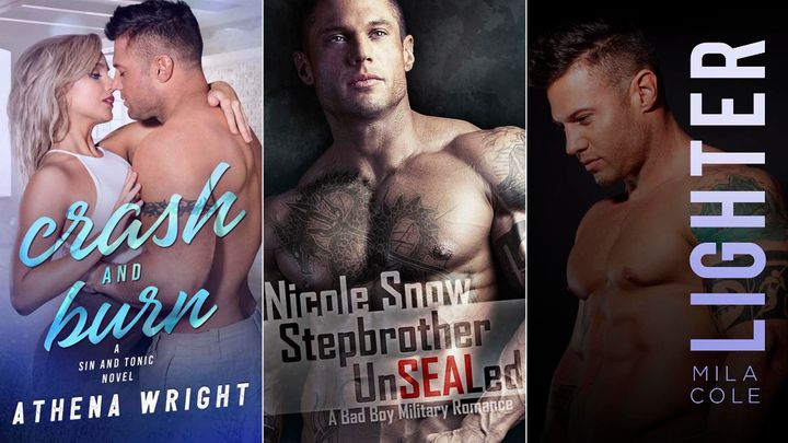 Barnhart appears on the covers of several romance novels.
