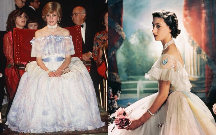 Princesscore channels elements of iconic royal style from the likes of Princess Diana and Princess Margaret.