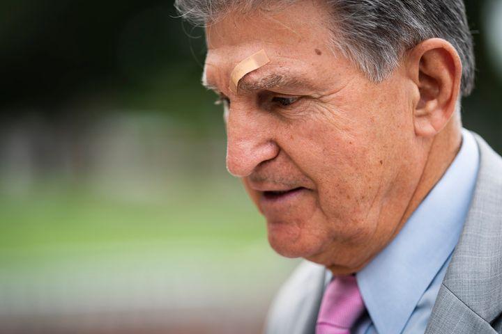 Sen. Joe Manchin (D-W.Va.) has criticized a Democratic $3.5 trillion spending plan as too costly.