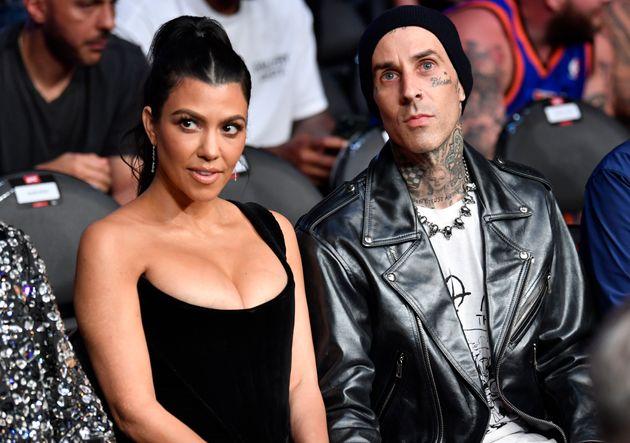Kourtney Kardashian and Travis