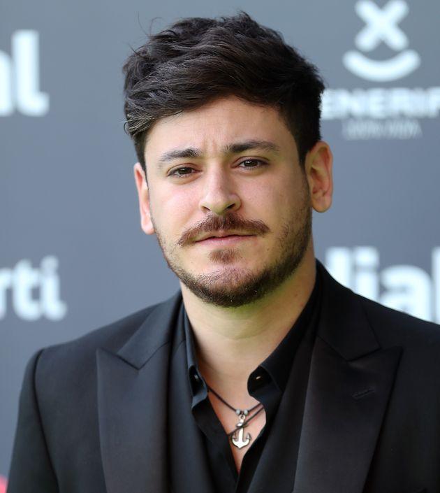 Luis Cepeda, en los Premios Dial de